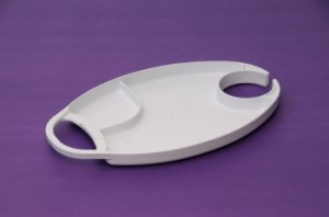 Photo of small sectioned plate - Party Palette brand.